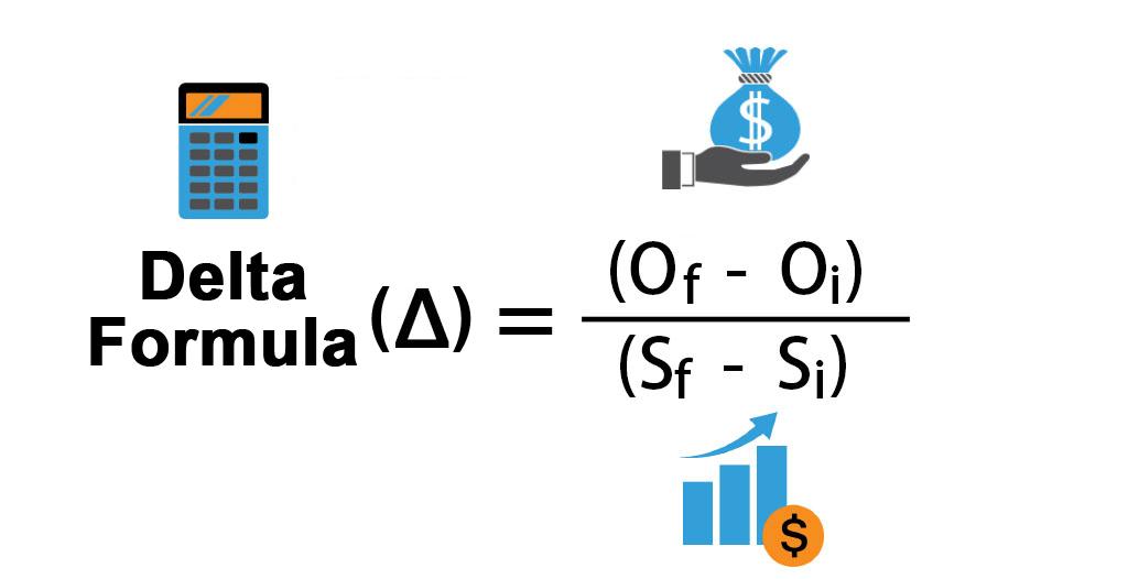 Formula Delta (definiție, exemplu) | Ghid pas cu pas pentru a calcula Delta