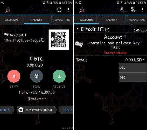Trust: Portofel BTC și cripto în App Store