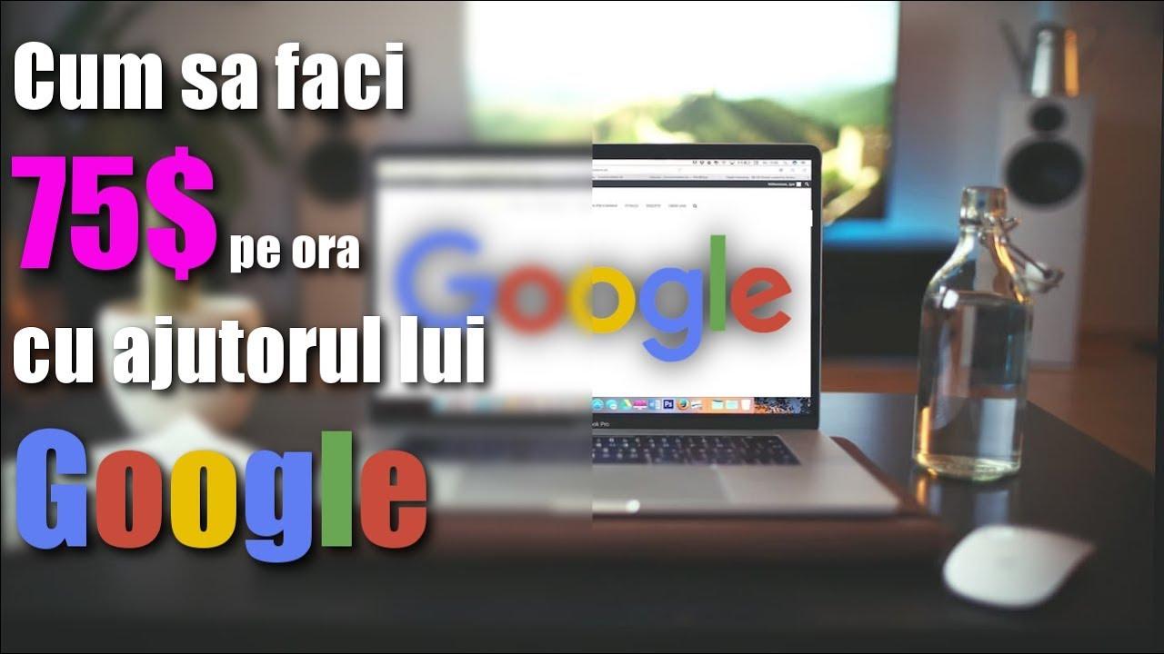 cum să faci bani pe internet google