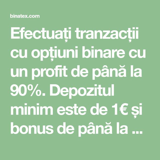 24 de opțiuni binare cu un depozit minim cum să lucrezi și să câștigi mulți bani