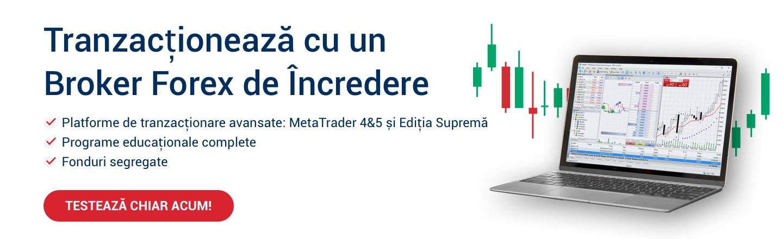 Cel Mai Bun Broker Forex și CFD [Broker Forex Romania]