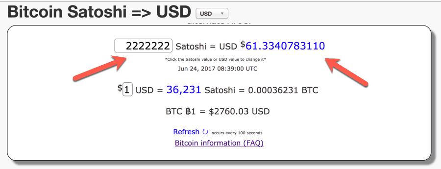 convertiți 1 dolar la bitcoin