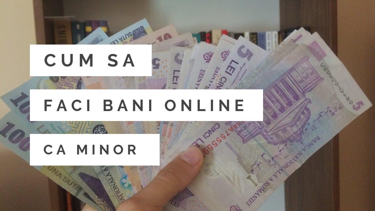 cum să faci bani online de la 1000