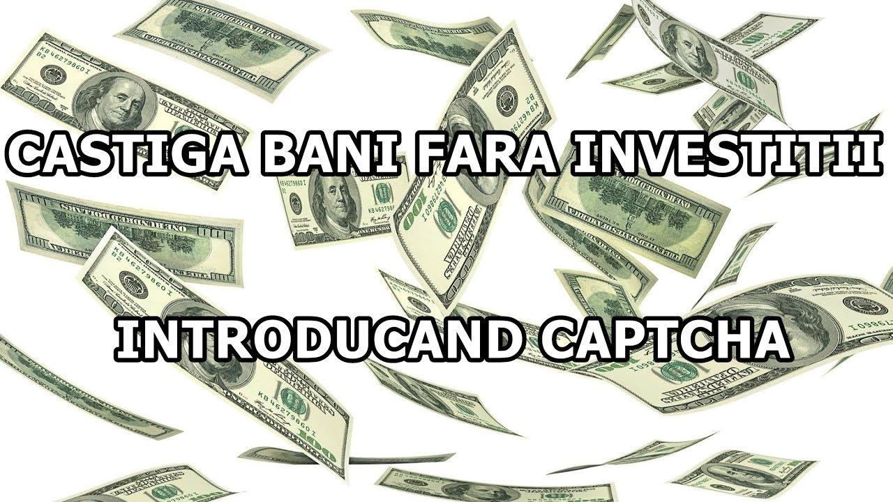 câștigând bani pe internet cu investiții